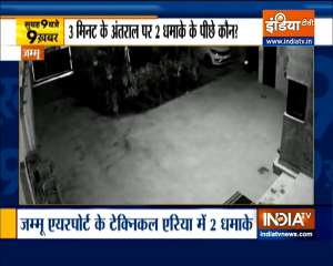 Top 9 News: Two Explosions At Jammu Airport's Technical Area