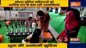 Noida Police unique campaign to provide employment to women, make them self-reliant