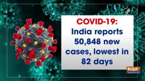 COVID-19: India reports 50,848 new cases, lowest in 82 days
