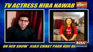 Hiba Nawab on Jijaji Chhat Parr Koii Hai