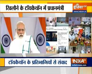 PM Modi interacts with Toycathon 2021 participants via video conferencing