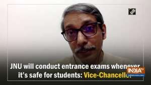 JNU will conduct entrance exams whenever it's safe for students: Vice-Chancellor