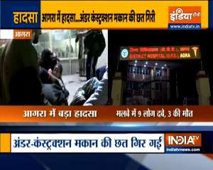 Wall collapses in Agra's Kagarol,3 children killed