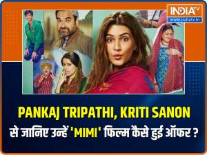 Starcast of Mimi joins India TV for an EXCLUSIVE conversation