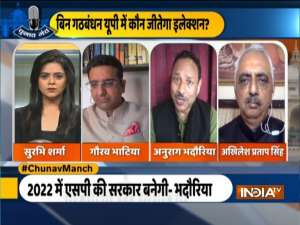 Chunav Manch | BJP likely to get tough fight from Samajwadi Party in UP Polls 2022