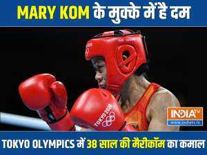 Mary Kom enters Olympic pre-quarters, outwits spirited Garcia from Dominica