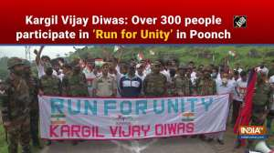Kargil Vijay Diwas: Over 300 people participate in 'Run for Unity' in Poonch
