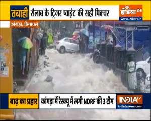 Ground Report | Scenes of destruction after flash floods in Dharamshala's Kangra