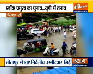 Widespread violence in UP on nomination filing day for Block polls
