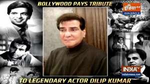 Veteran actor Jeetendra pays a heartfelt tribute to legendary actor Dilip Kumar