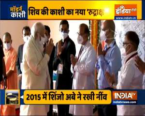 PM Modi visits the 100-bed maternal & child health wing at Banaras Hindu University
