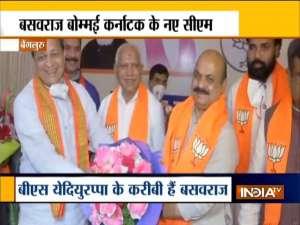 Basavaraj Bommai chosen as the new Karnataka CM