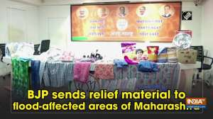 BJP sends relief material to flood-affected areas of Maharashtra