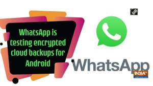 WhatsApp is testing encrypted cloud backups for Android