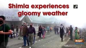 Shimla experiences gloomy weather