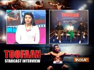 IndiaTV exclusive talk with 'Toofan' stars Farhan Akhtar and Mrunal Thakur