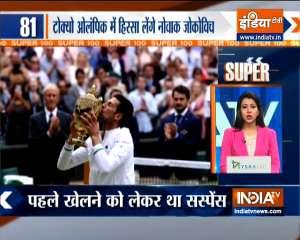 Super 100: Novak Djokovic To Compete At Tokyo Olympics