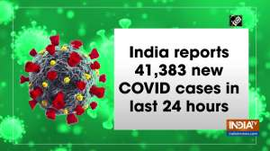 India reports 41,383 new COVID cases in last 24 hours