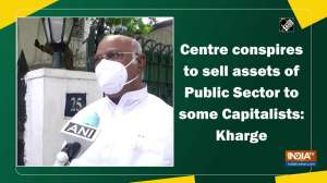 Centre conspires to sell assets of Public Sector to some Capitalists: Kharge