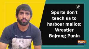 Sports don't teach us to harbour malice: Wrestler Bajrang Punia