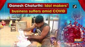 Ganesh Chaturthi: Idol makers' business suffers amid COVID