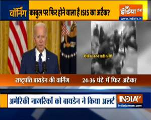 Another attack at Kabul airport highly likely in 24-36 hours, warns Biden