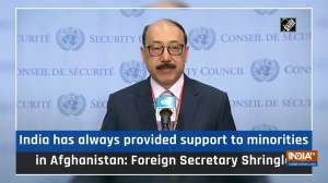 India has always provided support to minorities in Afghanistan: Foreign Secretary Shringla