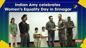 Indian Amy celebrates Women's Equality Day in Srinagar