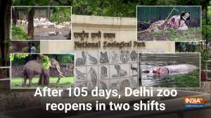 After 105 days, Delhi zoo reopens in two shifts