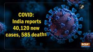COVID: India reports 40,120 new cases, 585 deaths