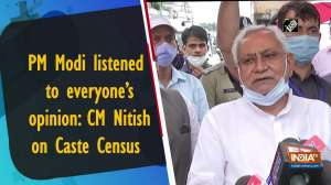 PM Modi listened to everyone's opinion: CM Nitish on Caste Census