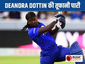 The Hundred: Dottin smashes successive fours to guide Spirit to victory against Superchargers