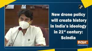 New drone policy will create history in India's ideology in 21st century: Scindia