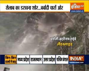 Heavy rainfall witness from Rajasthan to Karnataka | Watch ground report