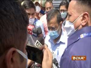 Delhi CM meets parents of minor girl who was allegedly raped-murdered in Nangal