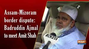Assam-Mizoram border dispute: Badruddin Ajmal to meet Amit Shah