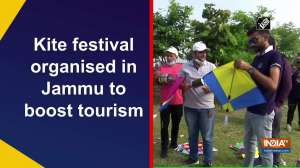 Kite festival organised in Jammu to boost tourism