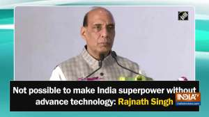 Not possible to make India superpower without advance technology: Rajnath Singh
