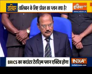 What is NSA Doval's plan against Taliban? Watch exclusive report