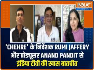 Watch 'Chehre' director Rumi Jaffery and producer Anand Pandit's exclusive interview