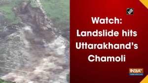 Watch: Landslide hits Uttarakhand's Chamoli
