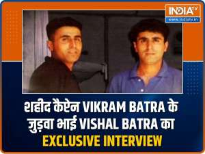 Kargil war hero Captain Vikram Batra's brother tells the story behind the slogan 'Yeh Dil Maange More'