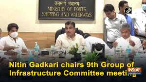 Nitin Gadkari chairs 9th Group of Infrastructure Committee meeting