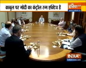 PM Modi chairs CCS meeting, asks officials to ensure safe evacuation of Indians from Afghanistan