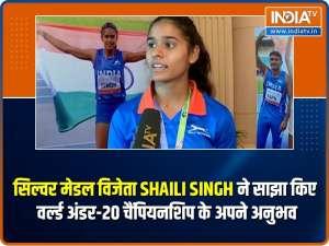 Exclusive: U-20 World Athletics Championships medallist Shaili Singh sets sight on Paris Olympics