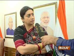Narayane Rane arrest: Law and Constitution abused in Maharashtra today, says Smriti Irani