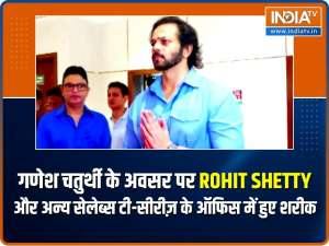 Rohit Shetty, Urvashi Rautela and others arrived in style at T-Series office for Ganesh Chaturthi celebrations