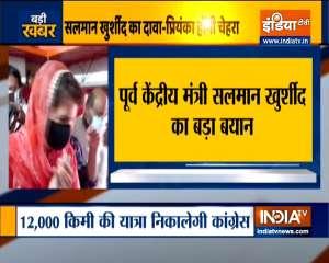 Priyanka Gandhi will be Congress's face for UP polls: Salman Khurshid