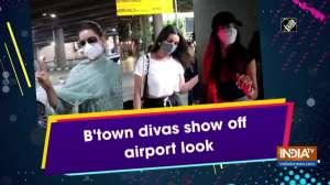 B'town divas show off airport look