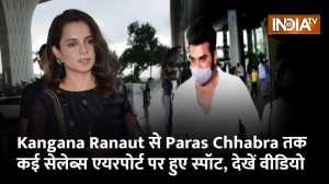 From Kangana Ranaut to Paras Chhabra, celebs spotted at the airport